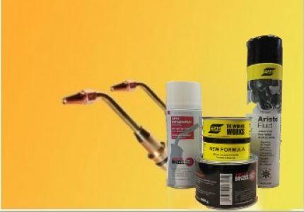 Hegesztéstechnikai eszközök, kellékek, forraszanyagok logo